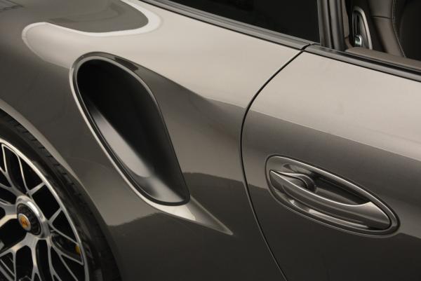Used 2014 Porsche 911 Turbo S for sale Sold at Bugatti of Greenwich in Greenwich CT 06830 22