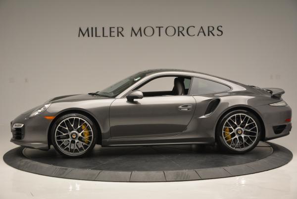 Used 2014 Porsche 911 Turbo S for sale Sold at Bugatti of Greenwich in Greenwich CT 06830 3