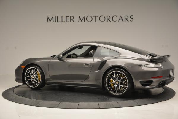 Used 2014 Porsche 911 Turbo S for sale Sold at Bugatti of Greenwich in Greenwich CT 06830 4