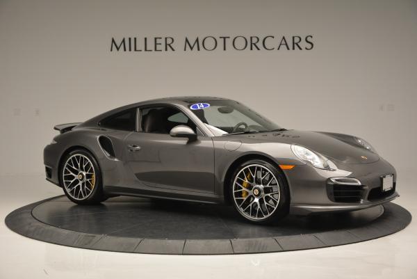Used 2014 Porsche 911 Turbo S for sale Sold at Bugatti of Greenwich in Greenwich CT 06830 9