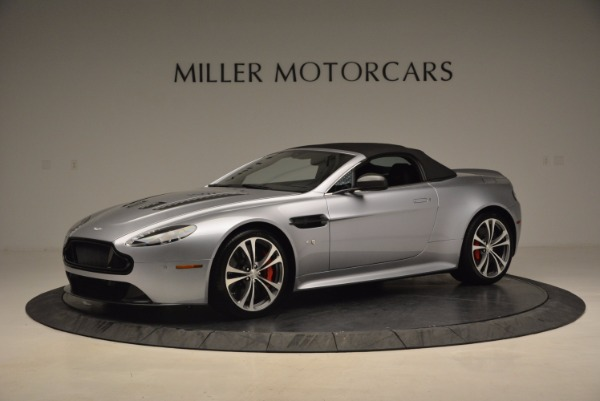 Used 2015 Aston Martin V12 Vantage S Roadster for sale Sold at Bugatti of Greenwich in Greenwich CT 06830 14