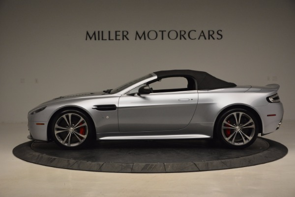 Used 2015 Aston Martin V12 Vantage S Roadster for sale Sold at Bugatti of Greenwich in Greenwich CT 06830 15