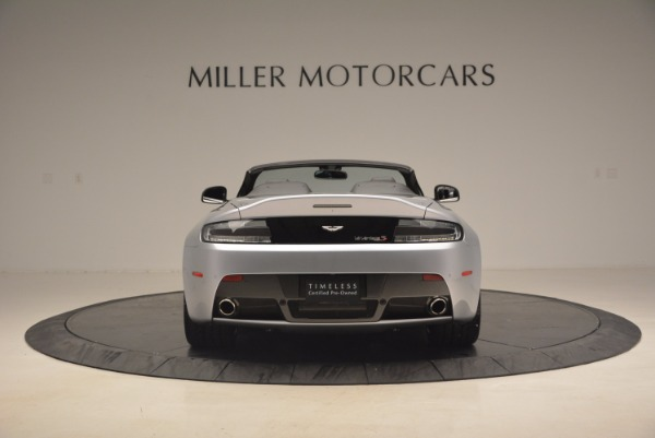 Used 2015 Aston Martin V12 Vantage S Roadster for sale Sold at Bugatti of Greenwich in Greenwich CT 06830 6