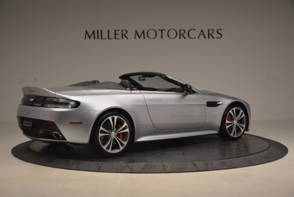 Used 2015 Aston Martin V12 Vantage S Roadster for sale Sold at Bugatti of Greenwich in Greenwich CT 06830 8