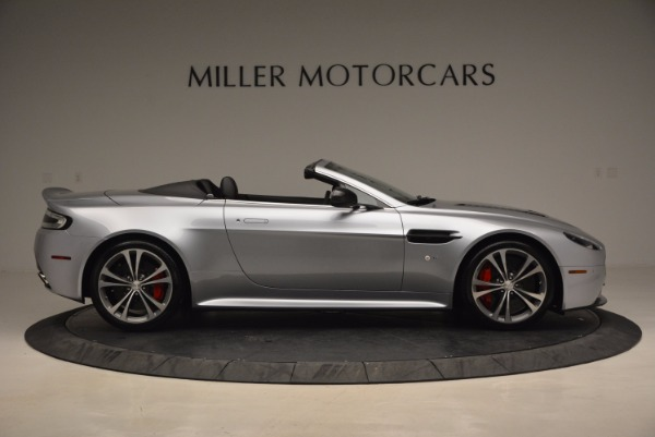 Used 2015 Aston Martin V12 Vantage S Roadster for sale Sold at Bugatti of Greenwich in Greenwich CT 06830 9