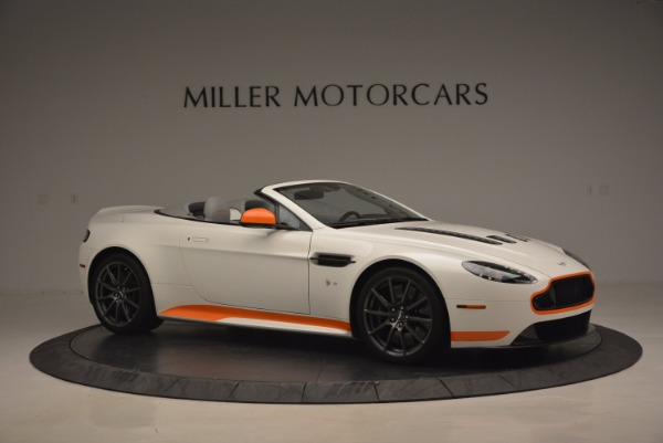 Used 2017 Aston Martin V12 Vantage S Convertible for sale Sold at Bugatti of Greenwich in Greenwich CT 06830 10