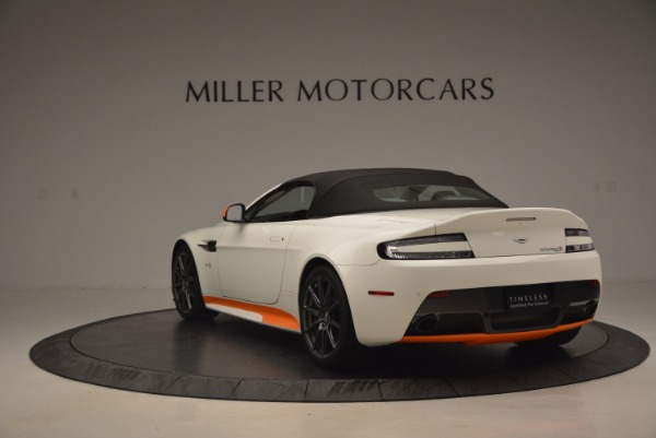 Used 2017 Aston Martin V12 Vantage S Convertible for sale Sold at Bugatti of Greenwich in Greenwich CT 06830 17