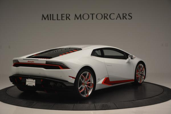 Used 2015 Lamborghini Huracan LP610-4 for sale Sold at Bugatti of Greenwich in Greenwich CT 06830 10