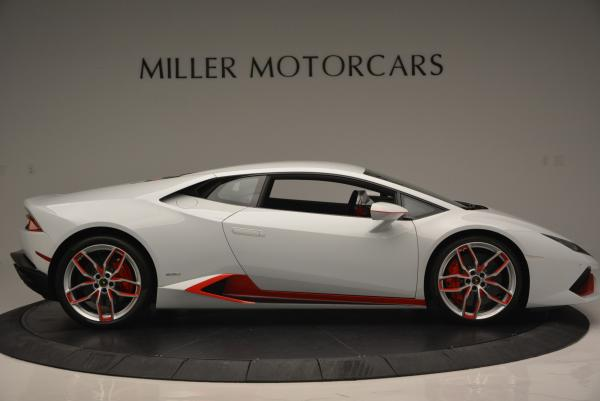 Used 2015 Lamborghini Huracan LP610-4 for sale Sold at Bugatti of Greenwich in Greenwich CT 06830 11
