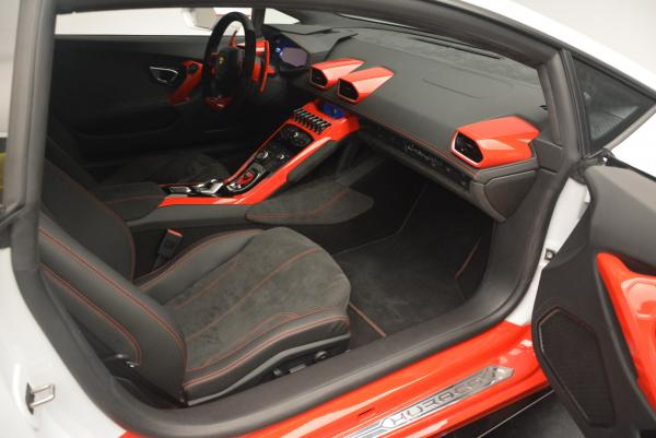 Used 2015 Lamborghini Huracan LP610-4 for sale Sold at Bugatti of Greenwich in Greenwich CT 06830 20