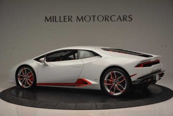 Used 2015 Lamborghini Huracan LP610-4 for sale Sold at Bugatti of Greenwich in Greenwich CT 06830 4
