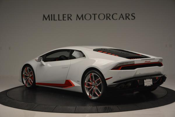 Used 2015 Lamborghini Huracan LP610-4 for sale Sold at Bugatti of Greenwich in Greenwich CT 06830 5