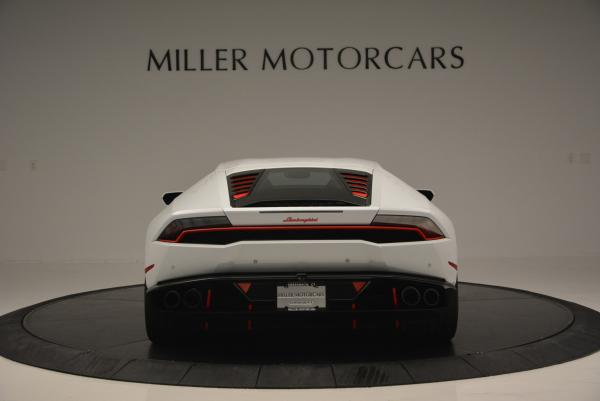 Used 2015 Lamborghini Huracan LP610-4 for sale Sold at Bugatti of Greenwich in Greenwich CT 06830 6