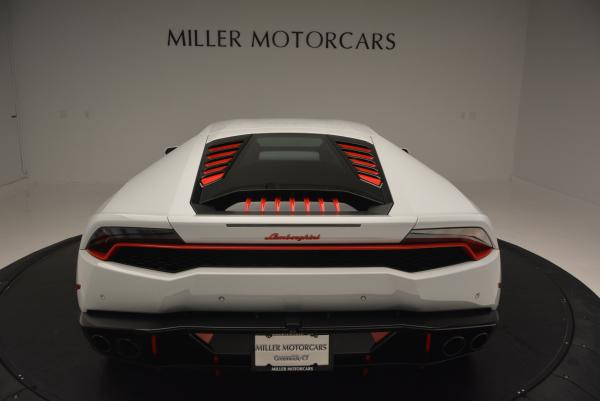 Used 2015 Lamborghini Huracan LP610-4 for sale Sold at Bugatti of Greenwich in Greenwich CT 06830 7