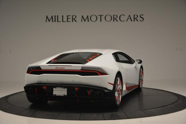 Used 2015 Lamborghini Huracan LP610-4 for sale Sold at Bugatti of Greenwich in Greenwich CT 06830 9
