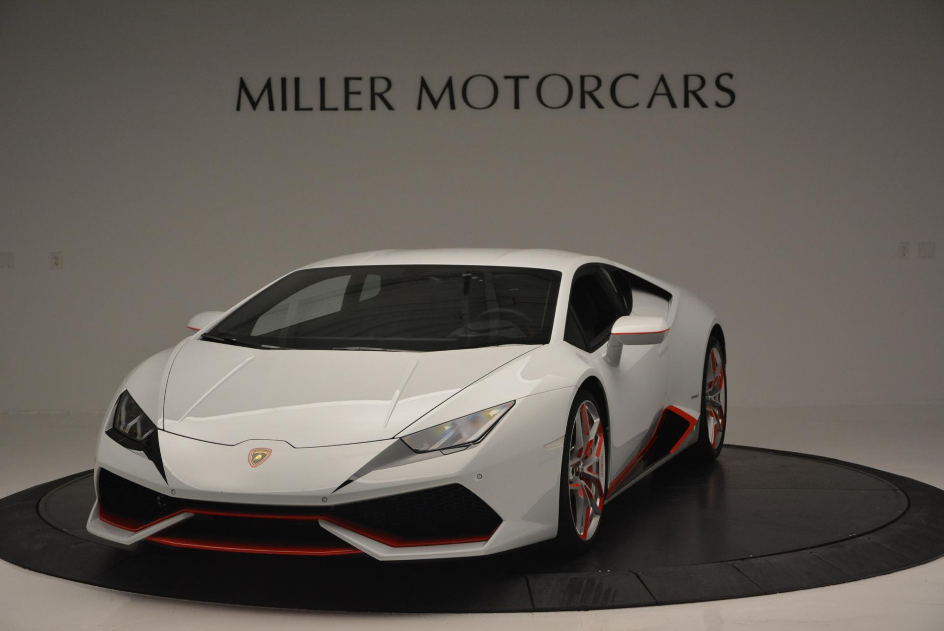Used 2015 Lamborghini Huracan LP610-4 for sale Sold at Bugatti of Greenwich in Greenwich CT 06830 1