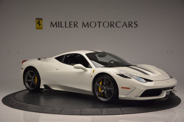 Used 2015 Ferrari 458 Speciale for sale Sold at Bugatti of Greenwich in Greenwich CT 06830 11