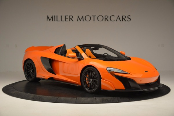 Used 2016 McLaren 675LT Spider Convertible for sale Sold at Bugatti of Greenwich in Greenwich CT 06830 10