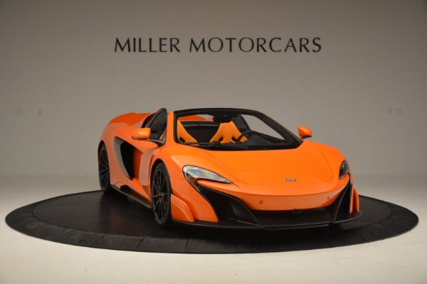 Used 2016 McLaren 675LT Spider Convertible for sale Sold at Bugatti of Greenwich in Greenwich CT 06830 11