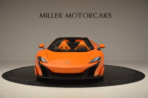 Used 2016 McLaren 675LT Spider Convertible for sale Sold at Bugatti of Greenwich in Greenwich CT 06830 12