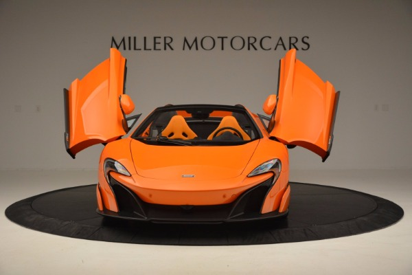 Used 2016 McLaren 675LT Spider Convertible for sale Sold at Bugatti of Greenwich in Greenwich CT 06830 13