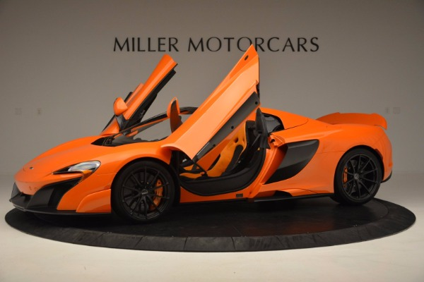 Used 2016 McLaren 675LT Spider Convertible for sale Sold at Bugatti of Greenwich in Greenwich CT 06830 14