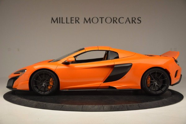 Used 2016 McLaren 675LT Spider Convertible for sale Sold at Bugatti of Greenwich in Greenwich CT 06830 15