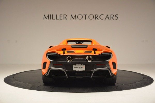 Used 2016 McLaren 675LT Spider Convertible for sale Sold at Bugatti of Greenwich in Greenwich CT 06830 17