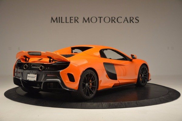 Used 2016 McLaren 675LT Spider Convertible for sale Sold at Bugatti of Greenwich in Greenwich CT 06830 18