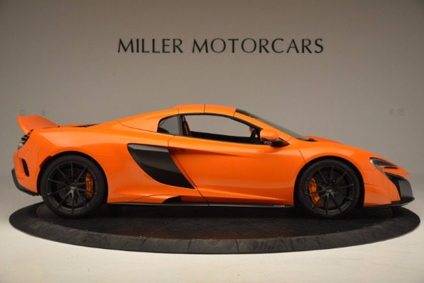 Used 2016 McLaren 675LT Spider Convertible for sale Sold at Bugatti of Greenwich in Greenwich CT 06830 19