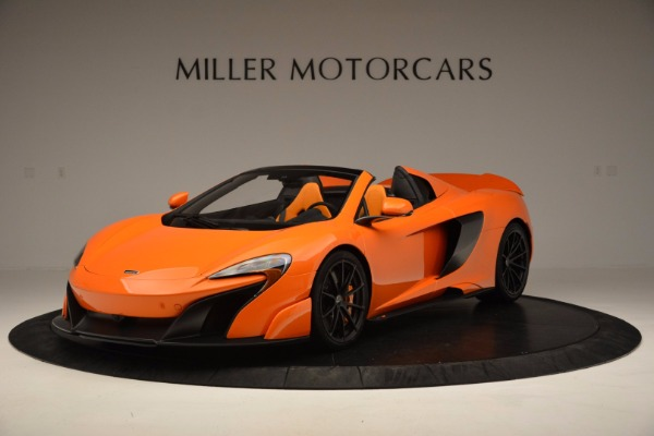 Used 2016 McLaren 675LT Spider Convertible for sale Sold at Bugatti of Greenwich in Greenwich CT 06830 2