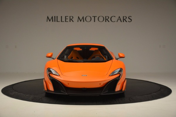 Used 2016 McLaren 675LT Spider Convertible for sale Sold at Bugatti of Greenwich in Greenwich CT 06830 21