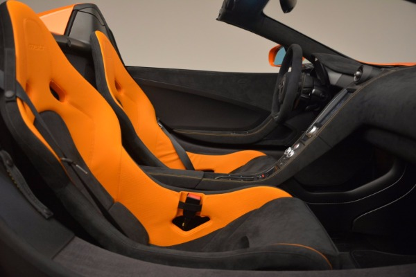 Used 2016 McLaren 675LT Spider Convertible for sale Sold at Bugatti of Greenwich in Greenwich CT 06830 26