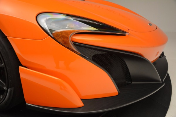Used 2016 McLaren 675LT Spider Convertible for sale Sold at Bugatti of Greenwich in Greenwich CT 06830 28
