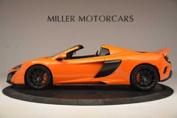 Used 2016 McLaren 675LT Spider Convertible for sale Sold at Bugatti of Greenwich in Greenwich CT 06830 3
