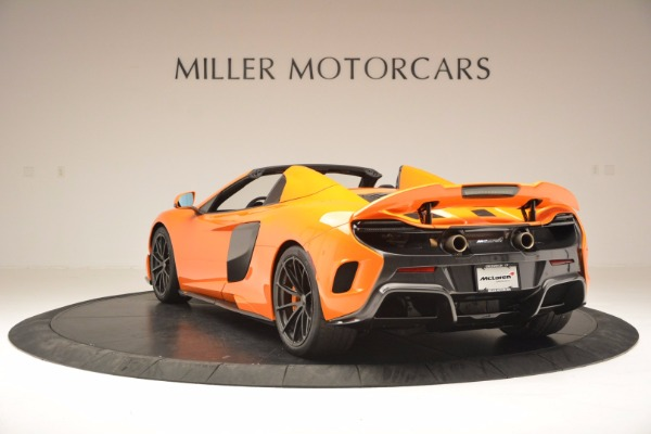 Used 2016 McLaren 675LT Spider Convertible for sale Sold at Bugatti of Greenwich in Greenwich CT 06830 5