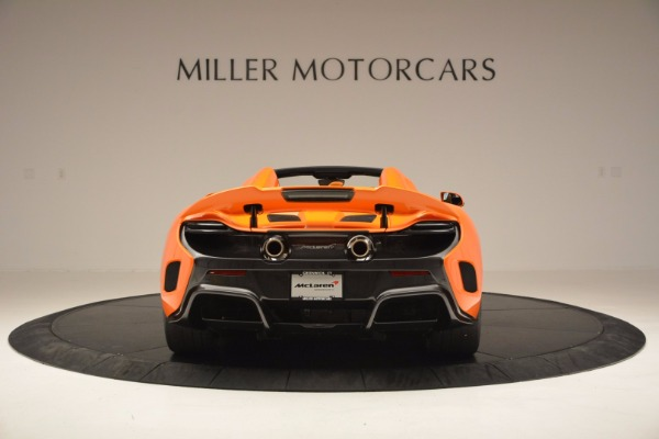 Used 2016 McLaren 675LT Spider Convertible for sale Sold at Bugatti of Greenwich in Greenwich CT 06830 6