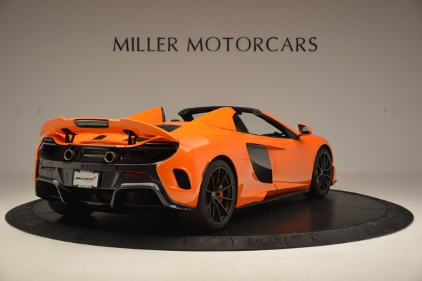 Used 2016 McLaren 675LT Spider Convertible for sale Sold at Bugatti of Greenwich in Greenwich CT 06830 7