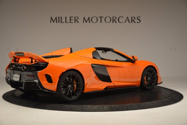 Used 2016 McLaren 675LT Spider Convertible for sale Sold at Bugatti of Greenwich in Greenwich CT 06830 8