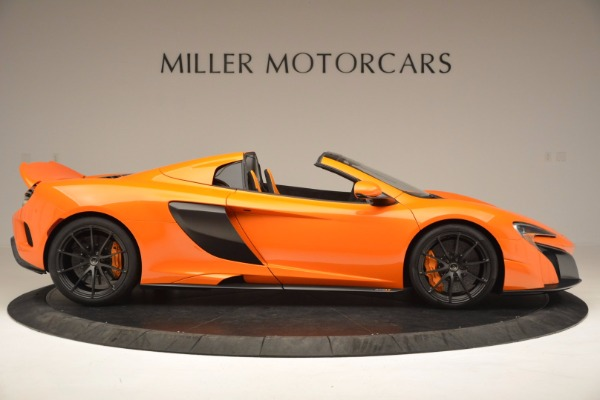 Used 2016 McLaren 675LT Spider Convertible for sale Sold at Bugatti of Greenwich in Greenwich CT 06830 9