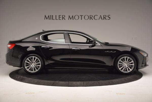 Used 2017 Maserati Ghibli SQ4 S Q4 Ex-Loaner for sale Sold at Bugatti of Greenwich in Greenwich CT 06830 9