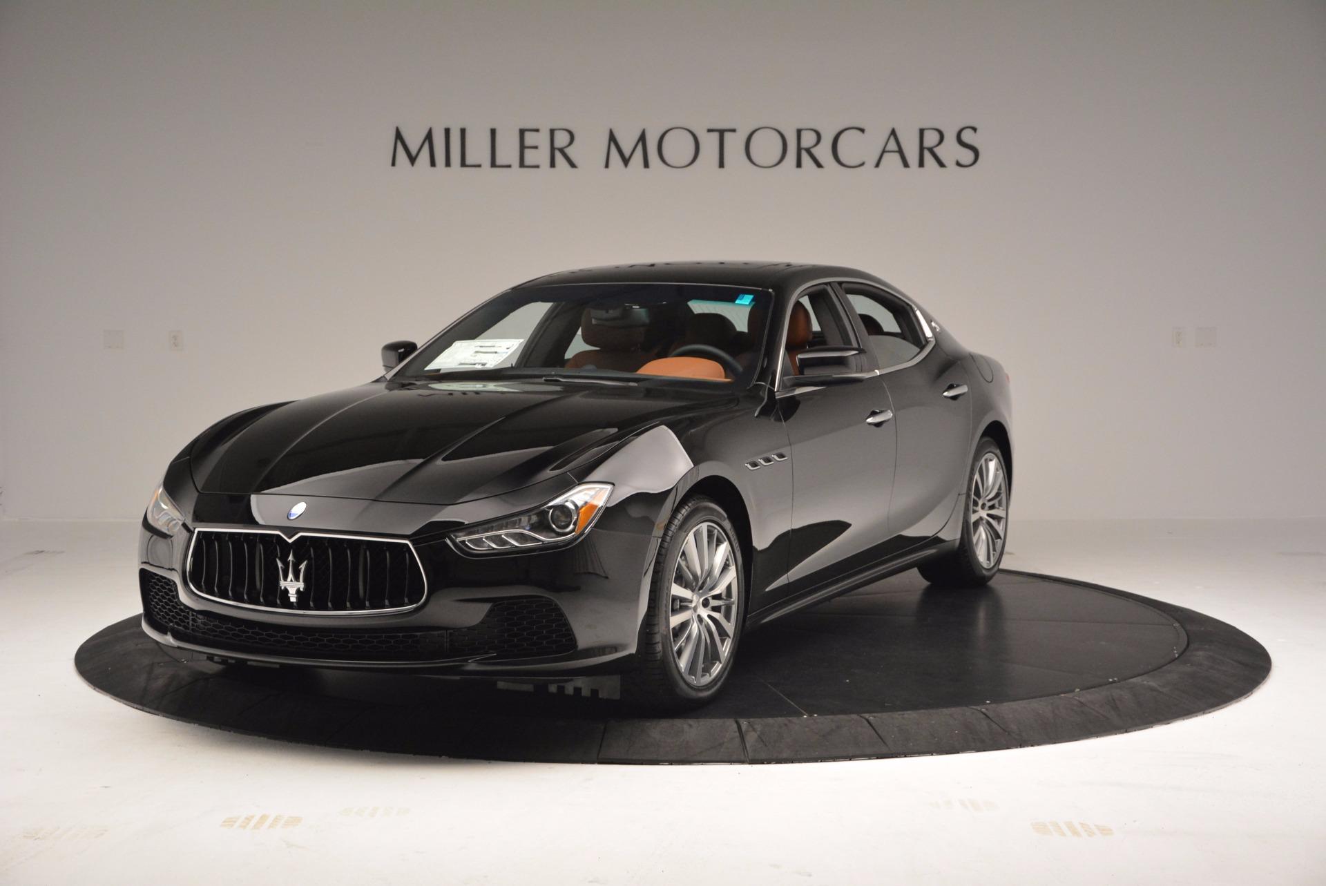 Used 2017 Maserati Ghibli SQ4 S Q4 Ex-Loaner for sale Sold at Bugatti of Greenwich in Greenwich CT 06830 1