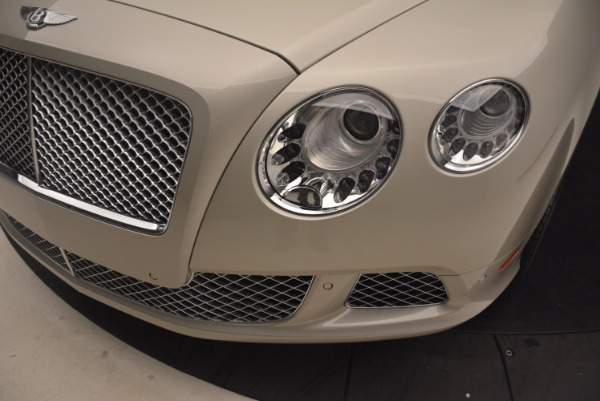Used 2013 Bentley Continental GT for sale Sold at Bugatti of Greenwich in Greenwich CT 06830 26