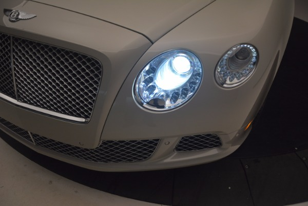 Used 2013 Bentley Continental GT for sale Sold at Bugatti of Greenwich in Greenwich CT 06830 28