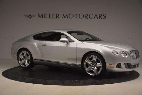 Used 2012 Bentley Continental GT for sale Sold at Bugatti of Greenwich in Greenwich CT 06830 10