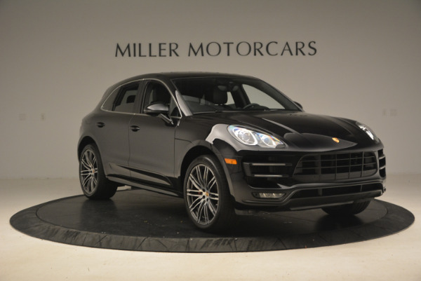 Used 2016 Porsche Macan Turbo for sale Sold at Bugatti of Greenwich in Greenwich CT 06830 11