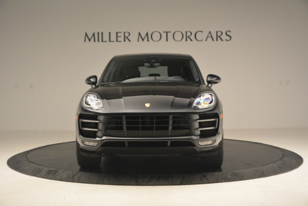 Used 2016 Porsche Macan Turbo for sale Sold at Bugatti of Greenwich in Greenwich CT 06830 12
