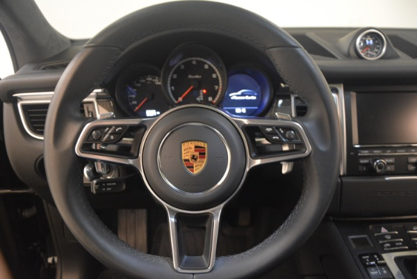 Used 2016 Porsche Macan Turbo for sale Sold at Bugatti of Greenwich in Greenwich CT 06830 18