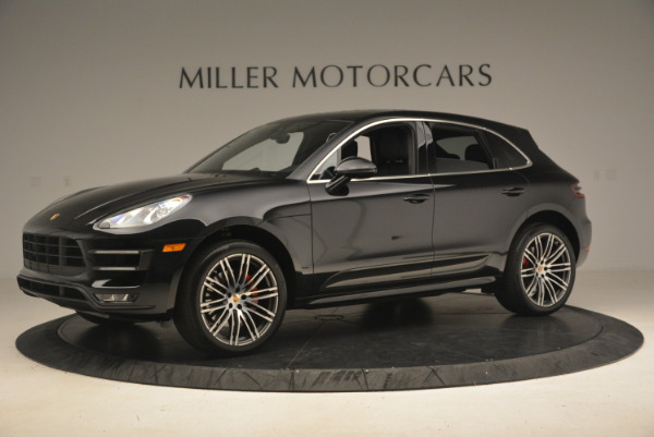 Used 2016 Porsche Macan Turbo for sale Sold at Bugatti of Greenwich in Greenwich CT 06830 2