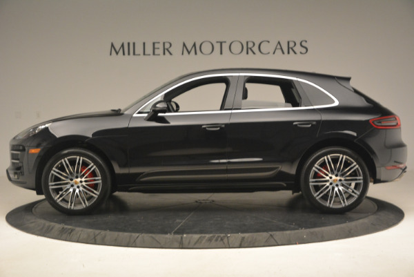 Used 2016 Porsche Macan Turbo for sale Sold at Bugatti of Greenwich in Greenwich CT 06830 3